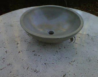 Concrete Vessel sink, Bowl