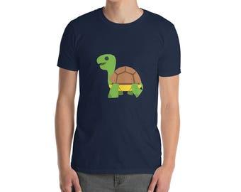 Smiling Happy Green Lake Turtle T-Shirt