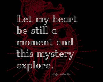 Let My Heart Be Still a Moment