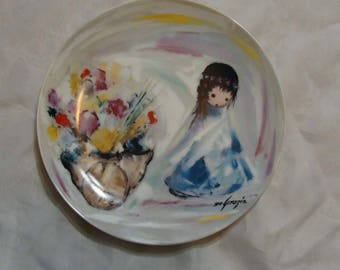 "Vintage Ted DeGrazia Collector Plate ""GIFTS From THE SUN"""