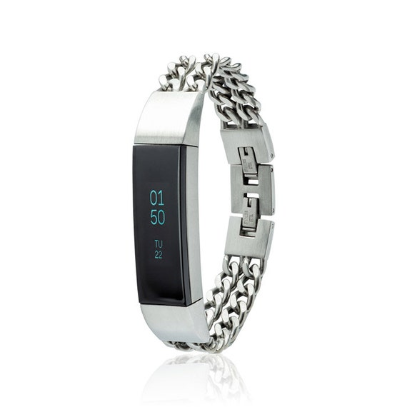 Bracelet NOE - Chain Bracelet  - for Fitbit Alta - Alta HR - Jewelry -  made from quality stainless steel