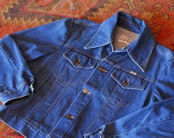 vintage Sedgefield Do Nothing denim jacket / size large