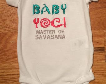Baby Yogi One Piece Bodysuit