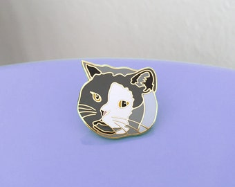 British Shorthair Cat Enamel Pin