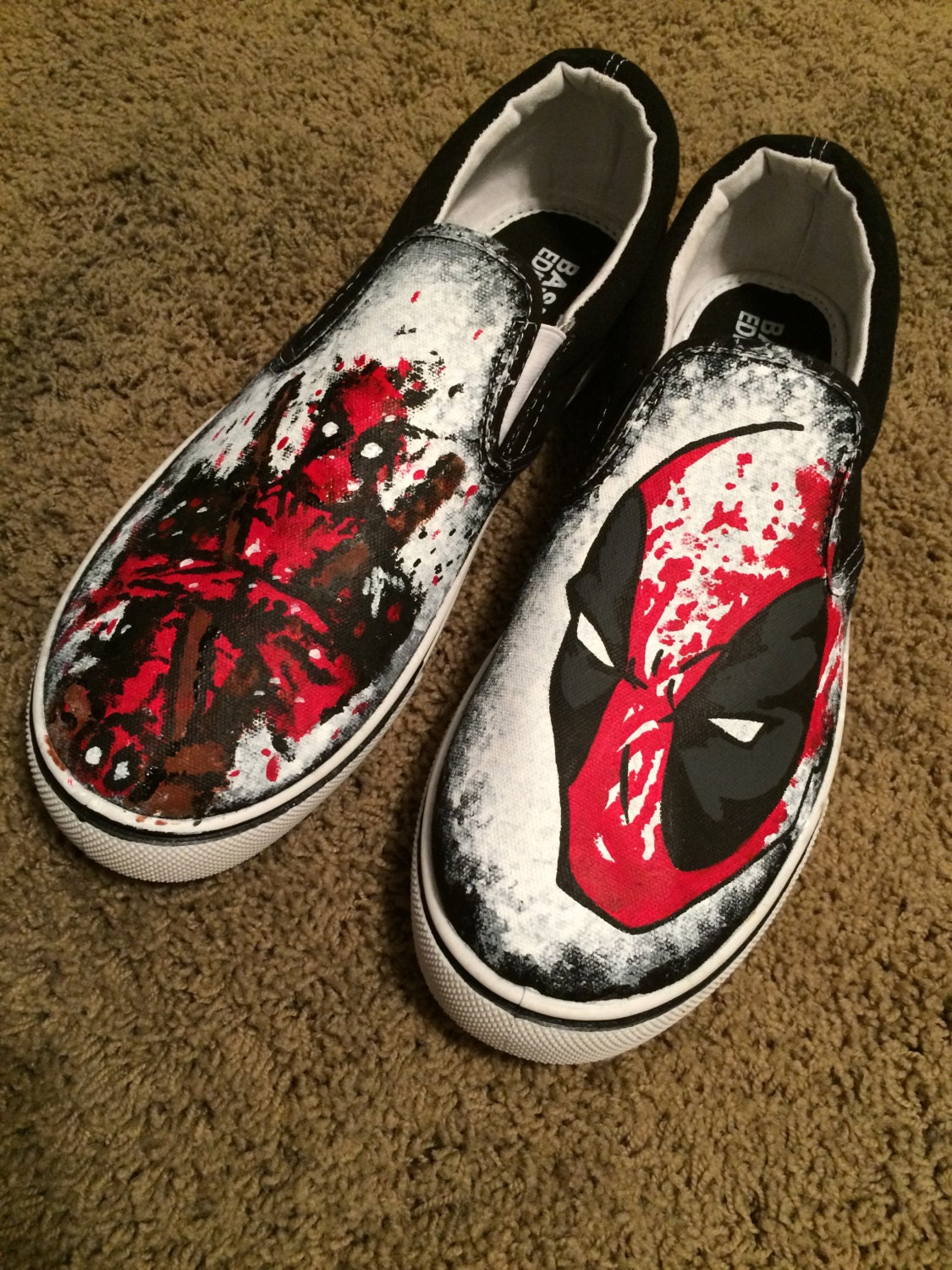 Funny Vans Custom Shoes