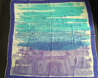 Vintage Vera Neumann Silk Scarf made in U.S.A