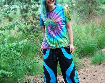 Yoga Pants Trousers UV Cotton Psytrance Festival