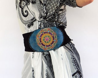 Belt, Leather belt, Womens leather belt, MANDALAS,