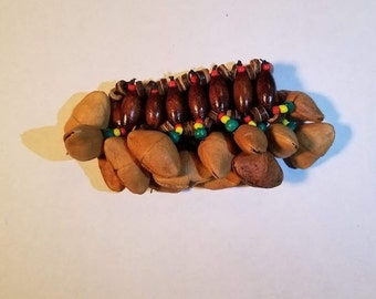 Shamanic shakers bracelet rattle