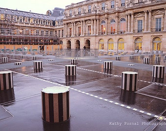 Paris Photography, Palais Royal, Paris Palais Royal Architecture, Paris Large Wall Art Prints, Paris Fine Art Photography, Paris Blush Pink