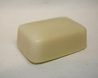 Savon Crème et Avocat, Savon artisanal fait main 100% naturel,Cold process Natural Handmade Soap,savon hydratant,peau sensible,pour bébé