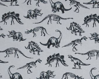 Dino Crib Sheets - Monochrome Baby Bedding /Change Pad Cover / Mini Crib Bedding Set/ Black Gray Baby Bedding / Modern Baby Bedding