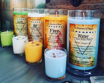 The Elements Of Magic Eco Friendly Soy Candles