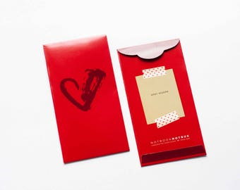 Chinese New Year Angpow / Red Envelope / Red Packet / Money Packet (25 pcs)