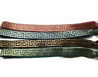 Greek Key Headbands