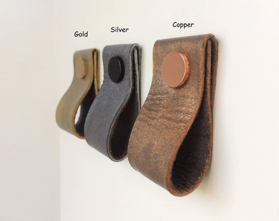 Exceptional Leather Pulls / Leather Handles / Leather Cabinet Hardware / Leather Drawer  Pulls / Leather Cabinet Handle / IKEA Cabinet Upgrade From Rowzec On Etsy  Studio