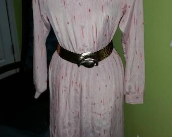 Flirty and Chic Toni Todd Shirt Waist Dress