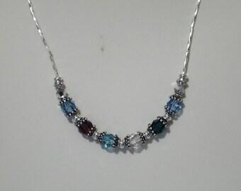 Swarovski Crystal Great Grandmother's Necklace - Pattern