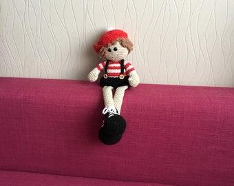 crochet doll, fun for children