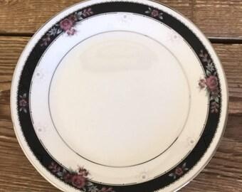 Vintage Set of 4 Noritake Etienne Salad Dessert Plates