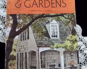 Original 1935 Better Homes Garden Magazine 65 pages Antique!