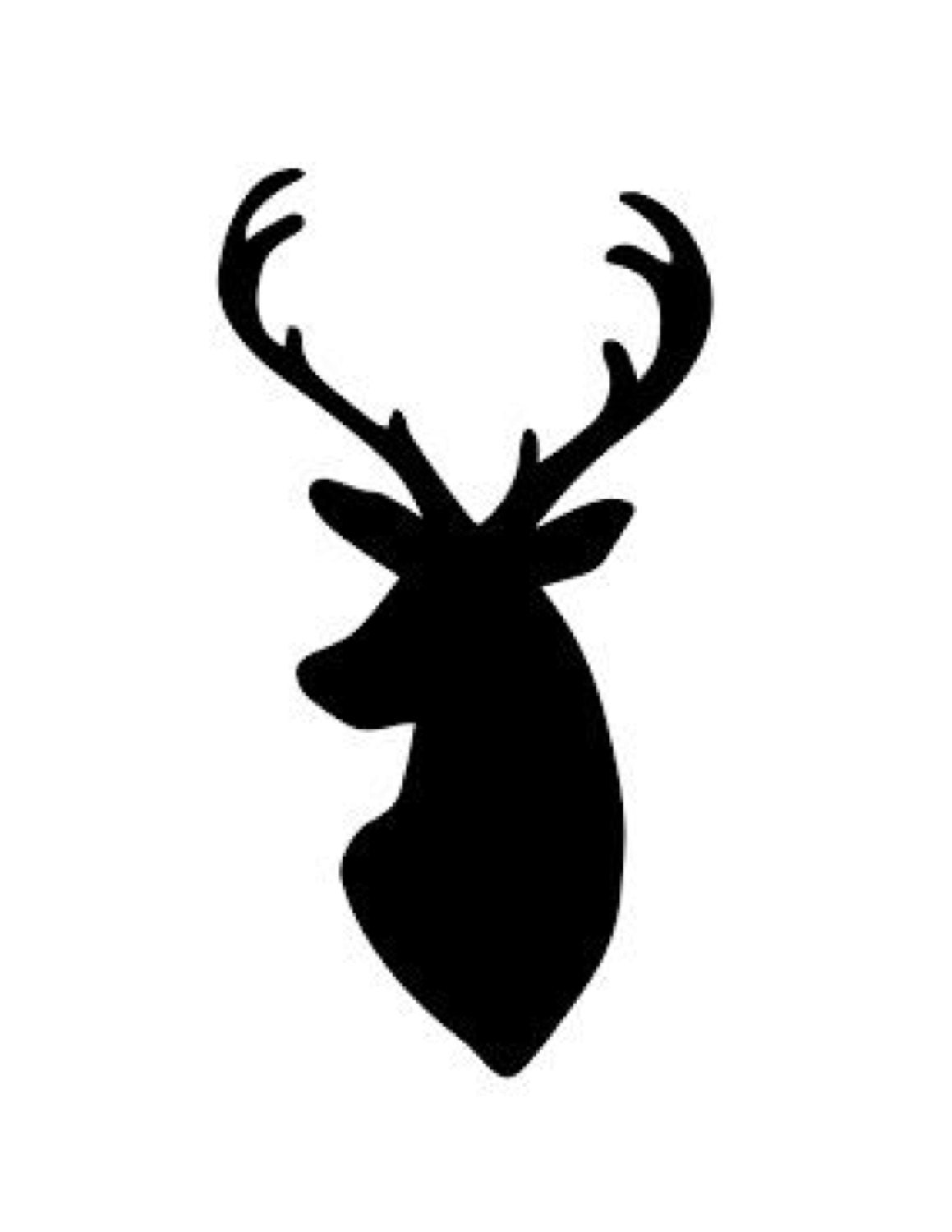 Deer Stencil Made From 4 Ply Mat Board Choose A Size From