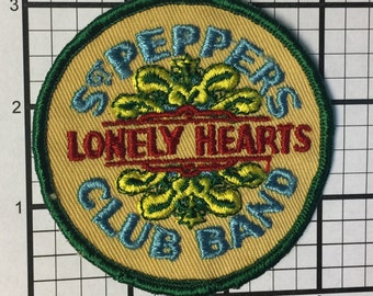 True Vintage 1970's St. Peppers Lonely Hearts Club Band Beatles Yellow Submarine patch never sold stored over 30 years. Last 2 in the world