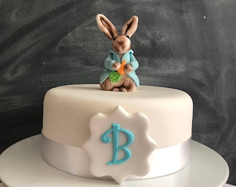 Edible Peter Rabbit Cake Topper Decoration