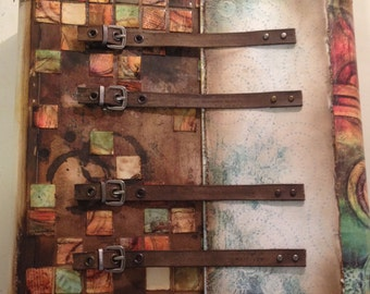 """Texture Journal, 6 layout pages, pull out tags, finished size 9.5"""" x 11"""""""