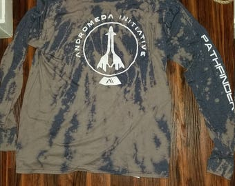 Splash Mass Effect Andromeda Andromeda Initiative Pathfinder shirt
