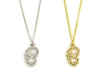 Birdhouse Jewelry- Pretzel Necklace