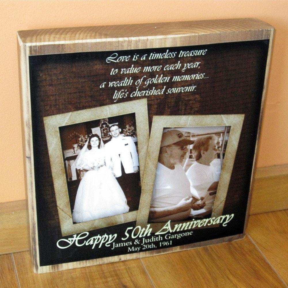 50th anniversary photo collage Anniversary Gifts Wedding Anniversary Gifts - m