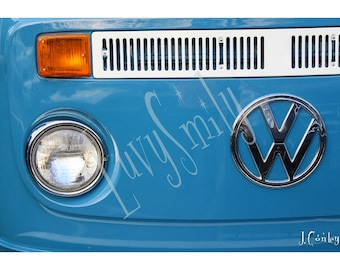 VW Bus Photograph