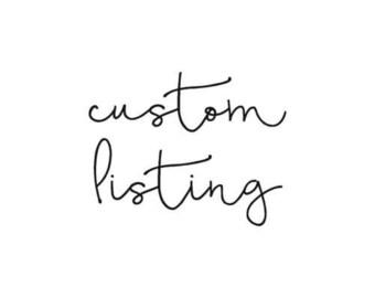 The Bonedana custom listing