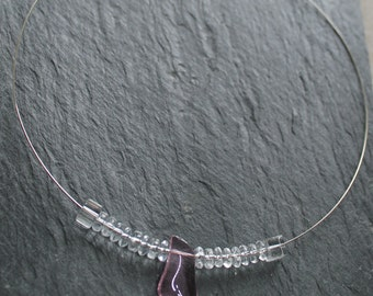 Floating Glass Necklace