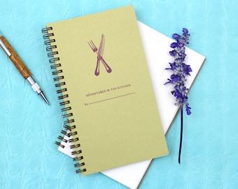 Adventures in the Kitchen - Letterpress Journal