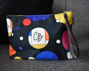 Make Up Bag, clutch, wristlet