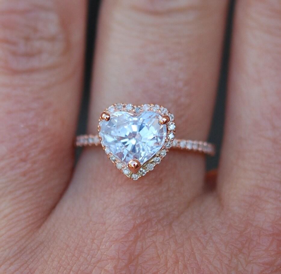 zoom - Heart Wedding Ring