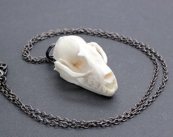 bat skull necklace