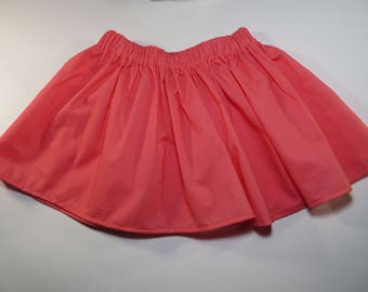 Strawberry Sorbet skirt