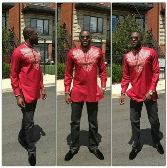 Mens African Mens Mens Shirt Outfit Express Ankara Mens Kaftan and Shipping Outfit Trousers SqzfUwq