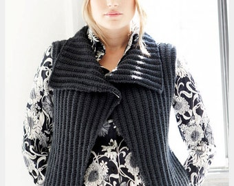 KNITTING PATTERN - Amelia Vest