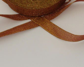 5 m lovely 15mm golden brown trim