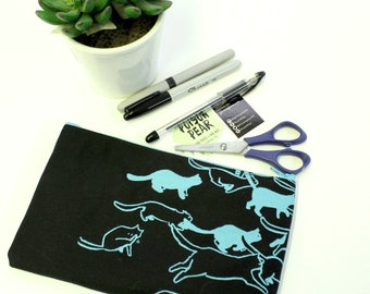 Pencil Case - Black Cat