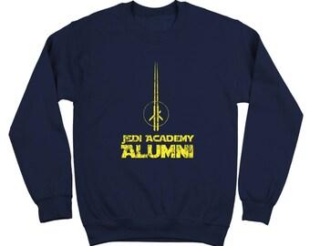 Jedi Alumni Retro Star Wars Costume Outfit 70S Crewneck Sweatshirt DT0205
