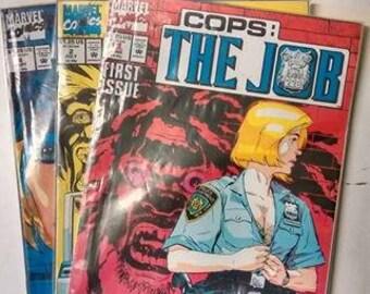 Marvel Comics Cops: The Job Issue 1, 2 & 4