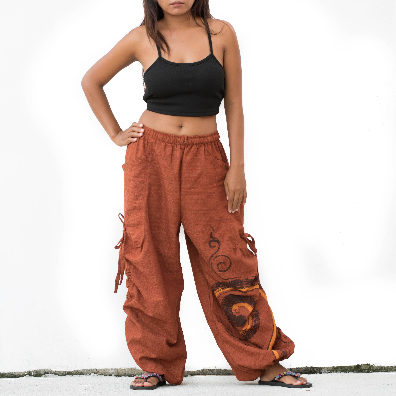 Boho Pants Drop Crotch Shorts Harem Pants Short Goa Pants Festival Pants xFLF4xWzZO
