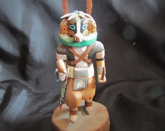 Hopi Badger Kachina