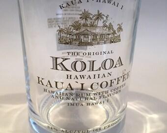 Kauai's Koloa Coffee Rum Glass (set of 2)