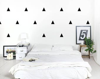 Triangles 7x8 cm Wall decal / Wall Triangles Vinyl Sticker / Wall Triangles Home decor / Triangle pattern wall decal / Geometric wall decal